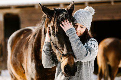 Balog Anna kapcsolódás lóval